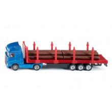 SIKU - Ciężarówka do transportu drewna - 1659
