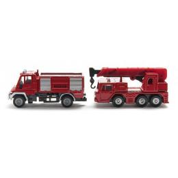 SIKU - Zestaw strażacki - 1661