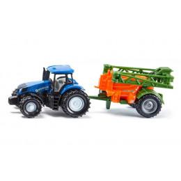 SIKU - Traktor ze spryskiwaczem - 1668