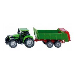 SIKU - Traktor z rozrzutnikiem - 1673
