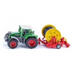 SIKU – Traktor z bębnem do nawijania węża – 1677