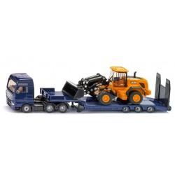 SIKU Super – Ciężarówka MAN TGX XXL z ładowarką JCB 1790