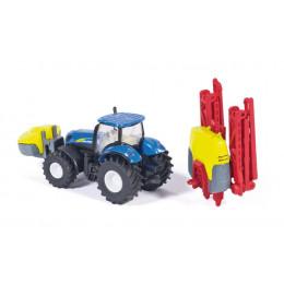 SIKU Farmer 1799 Traktor z opryskiwaczem do upraw 1:87