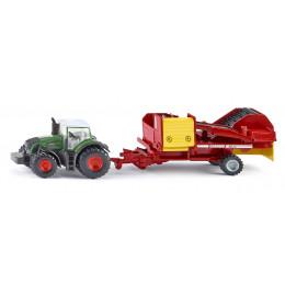 SIKU - Traktor z kombajnem - 1808