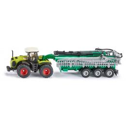 SIKU - Traktor z cysterną 1:87 - 1827