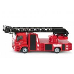 SIKU Super – Wóz straży pożarnej z drabiną MAN – 2114