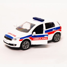 SIKU model 1411 VW Golf VI Ambulans