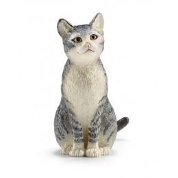 Schleich - Figurka Kot siedzący - 13771