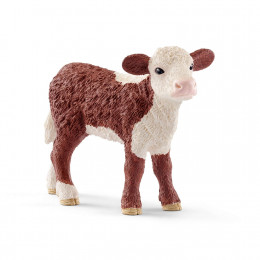 Schleich - Figurka - CIelę Rasy Hereford - 13868