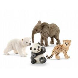 Schleich - Wild Life - Młode dzikie zwierzęta - 14794