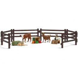 Schleich - Mini zoo - Figurki zwierzątek z farmy - 21052