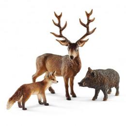 Schleich - Wild Life - Zestaw figurek Zwierzęta leśne Europy - 41458