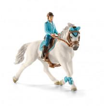Schleich Konie - Dżokej z koniem - 42111