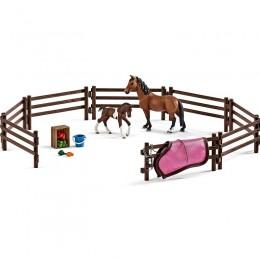 Schleich - Padok dla koni - Figurki 42192