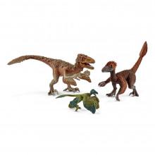 Schleich - Pierzaste Raptory - Figurki 3 Dinozaurów - 42347