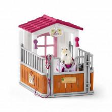 Schleich Konie - Zagroda dla koni z klaczą luzytańską - 42368