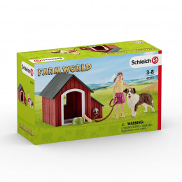Schleich - Buda dla psa - Farm World 42376