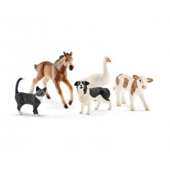 Schleich - Zwierzęta gospodarskie - Zestaw 5 figurek - 42386