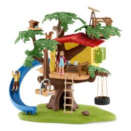 Schleich - Farm World – Domek na drzewie z figurkami - 42408