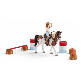 Schleich - Horse Club - Zestaw jeździecki Hannah 42441