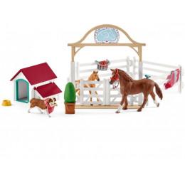Schleich - Horse Club - Goście Hannah - 42458