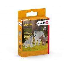 Schleich - Figurki Wilki - WIld Life - 42472