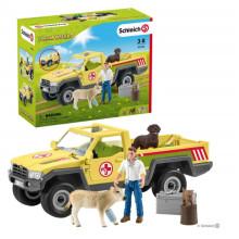 Schleich - Farm World - Samochód weterynarza na farmie 42503