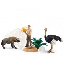 Schleich - Wild Life - Atak hieny - 42504