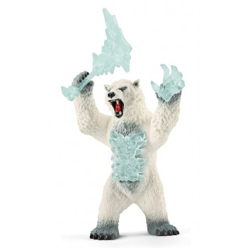 Schleich - Eldrador - Śnieżny niedźwiedź - 42510