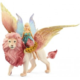 Schleich - Bayala – Elf na skrzydlatym lwie 70714