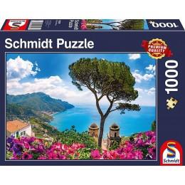 Schmidt - Puzzle 1000 elementów - Widok na wybrzeże 58329