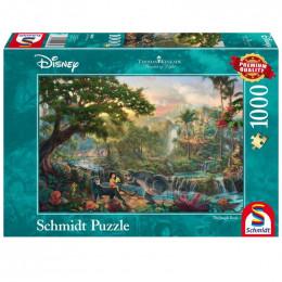 Schmidt - Puzzle 1000 elementów - Księga Dżungli 59473