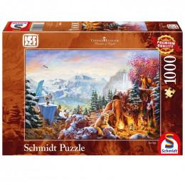 Schmidt - Puzzle 1000 elementów - Epoka Lodowcowa 59481