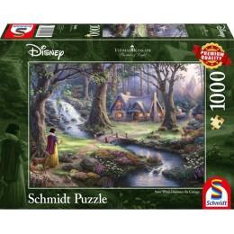 Schmidt - Puzzle 1000 elementów - Królewna Śnieżka 59485