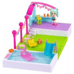 Shopkins Happy Places - Domek z ogrodem i basenem - Peppa-Mint HAP00000