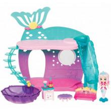 Shopkins Happy Places - Domek syrenek - Pearlina Mermaid i 5 Petkinsów - HAP31000