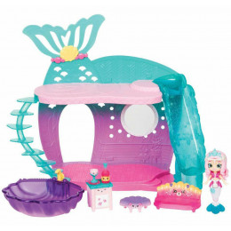Shopkins Happy Places - Domek syrenek - Pearlina Mermaid i 5 Petkinsów - HAP31000