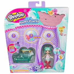 Shopkins Happy Places - Syrenka Sweetie Sprinkles - Podwodny salon HAP33200 HAP33000