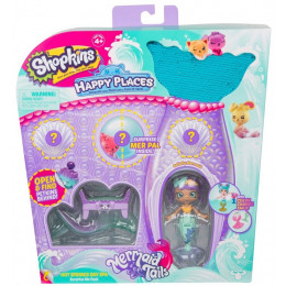Shopkins Happy Places - Syrenka Bellafly - Podwodne SPA HAP33000 57394