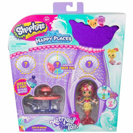 Shopkins Happy Places - Syrenka Frusha Salad - Podwodna jadalnia HAP33400 HAP33000
