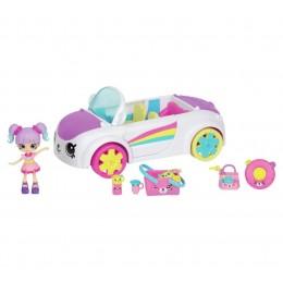 Shopkins Happy Places - Tęczowy samochód - Kate i zestaw Petkinsów HAR04000