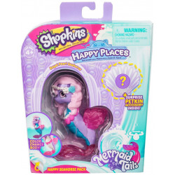 Shopkins Happy Places - Konik Morski Royal Pearl - Zestaw z Petkinsem HPH11000
