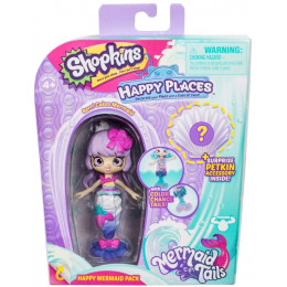 Shopkins Happy Places - Syrenka Berri Cakes - Zestaw z Petkinsem HPH11000