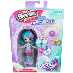Shopkins Happy Places - Syrenka Harmony - Zestaw z Petkinsem HPH11000