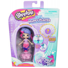 Shopkins Happy Places - Syrenka Ria Ribbons - Zestaw z Petkinsem HPH11000