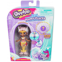 Shopkins Happy Places - Syrenka Wingona - Zestaw z Petkinsem HPH11000
