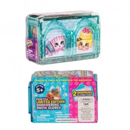 Shopkins Seria 8 HPKA3000 World Vacation - Dwupak Ameryka - Pokoik i figurki