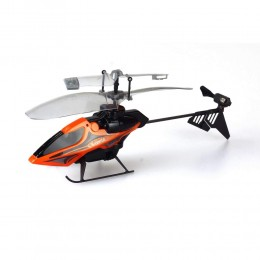 Silverlit - Helikopter zdalnie sterowany na podczerwień - Air Spiral - pomarańczowy 84689