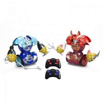 Silverlit - Robo Kombat Samurai - Walczące roboty bojowe Niebieski i Czerwony - 88056