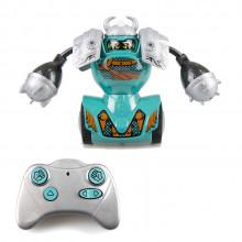 Silverlit - Robo Kombat - Zestaw treningowy z robotem Viking - turkusowy 88057